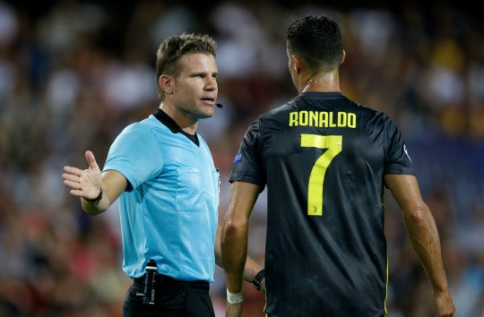 d9096baa115 Juventus news  Ronaldo pleads innocence to Valencia coach walking ...