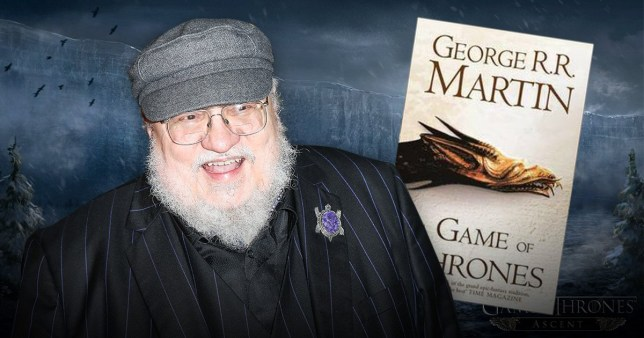 George RR Martin reassures fans the Game of Thrones books