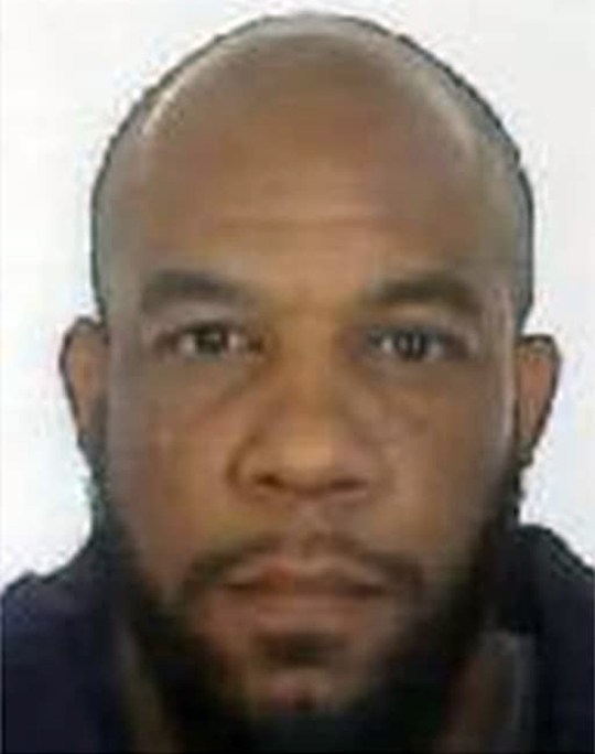 Undated Metropolitan Police handout file photo of Westminster attacker Khalid Masood who attended the same mosque as terrorists convicted of plotting a series of fertiliser bomb attacks after converting to Islam in jail, an inquest at the Old Bailey has heard. PRESS ASSOCIATION Photo. Issue date: Thursday September 20, 2018. Masood, 52, was shot dead by police after stabbing Pc Palmer, 48, to death after ploughing into Kurt Cochran, 54, Leslie Rhodes, 75, Aysha Frade, 44, and Andreea Cristea, 31, on Westminster Bridge in a rented 4x4, causing fatal injuries. See PA story INQUEST Westminster. Photo credit should read: Metropolitan Police/PA Wire NOTE TO EDITORS: This handout photo may only be used in for editorial reporting purposes for the contemporaneous illustration of events, things or the people in the image or facts mentioned in the caption. Reuse of the picture may require further permission from the copyright holder.