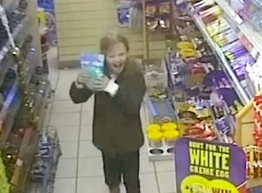 Chilling footage played to the court shows Mylee Billingham laughing with her dad in a shop just over two hours before she was stabbed to death. See NTI story NTIMYLEE. CCTV taken from a Costcutter store in Brownhills captured Billingham entering with his daughter while carrying her small pink rucksack. He then picks up a bottle of water and a four pack of lager before approaching the counter. Mylee can be seen running down an aisle to a selection of toys and returns to her dad clutching what appears to be a whoopee cushion broadly smiling as she squeezes it. Grinning Billingham agrees to buy the toy for his daughter before they leave the store together.