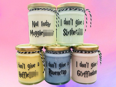Muggles, rejoice: These sweary Hogwarts candles are perfect for your Harry Potter collection