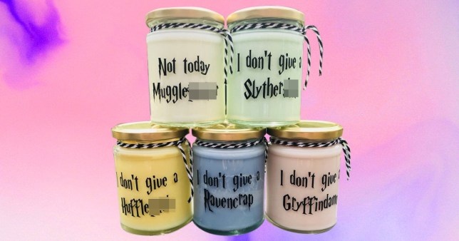 These rude Harry Potter candles are so wrong they're right