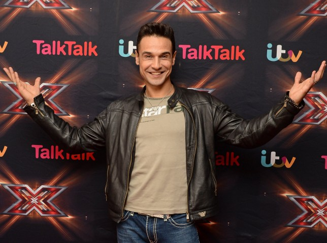 Editorial use only. No book publishing. Mandatory Credit: Photo by Jonathan Hordle/Thames/REX/Shutterstock (3385744q) Chico Slimani - boards 'The X Factor' TV show, London, Britain - 23 Nov 2013
