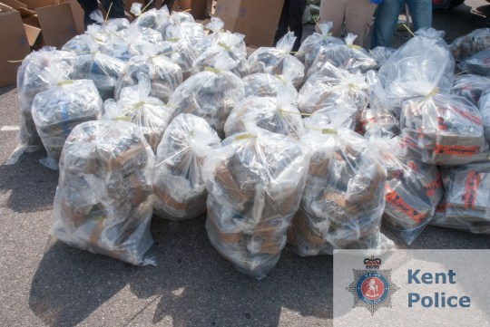 Bags of cannabis. Rabbit hay was used to hide more than ?10 million worth of cannabis on a lorry stopped at the Dartford Crossing. Two men have now been jailed for their involvement in a drug supply conspiracy uncovered by detectives from the Kent and Essex Serious Crime Directorate. Mark Owens, 58, of Beach Road in Clacton, Essex, and Paul Seabrook, 52, of Kendal Croft in Hornchurch, Essex, were when they appeared at Woolwich Crown Court on Friday 21 September 2018.