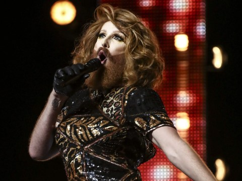 Drag queen Gingzilla lands duet on Robbie Williams' next album after X Factor audition