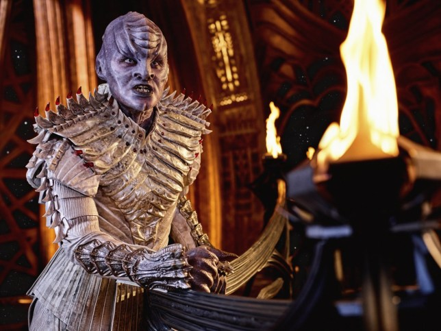 Star Trek star wades in on Klingon Discovery storm: There was no rhyme or reason for it' Credit: CBS