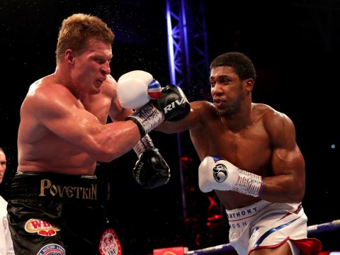 Alexander Povetkin speaks out after defeat to Anthony Joshua