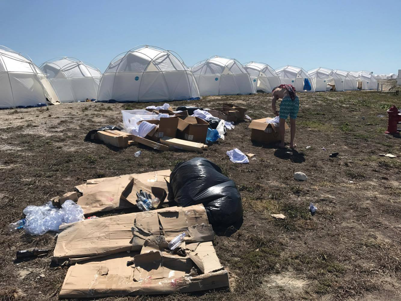 I went to Fyre Festival and documented everything