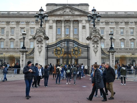 Man arrested after walking into Buckingham Palace 'carrying a Taser'