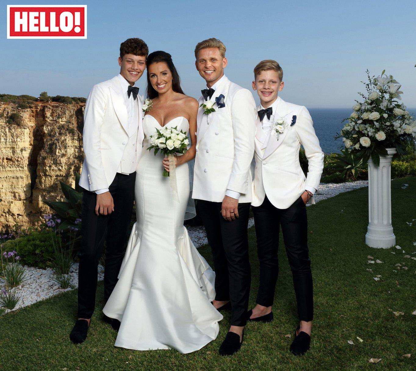 Jeff Brazier's new wife Kate still emotional over his sons' heartfelt wedding speech