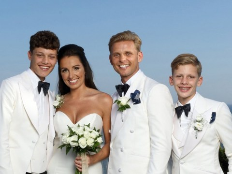 Jeff Brazier's new wife Kate still emotional over his sons' heartfelt wedding speech