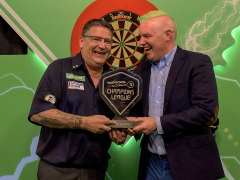 Gary Anderson's Champions League of Darts win takes 2018 earnings past £500k