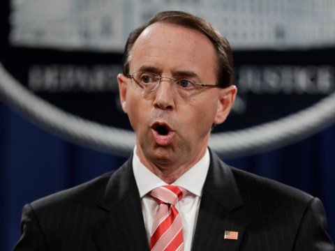 Deputy Attorney General Rod Rosenstein 'quits' before Donald Trump can fire him