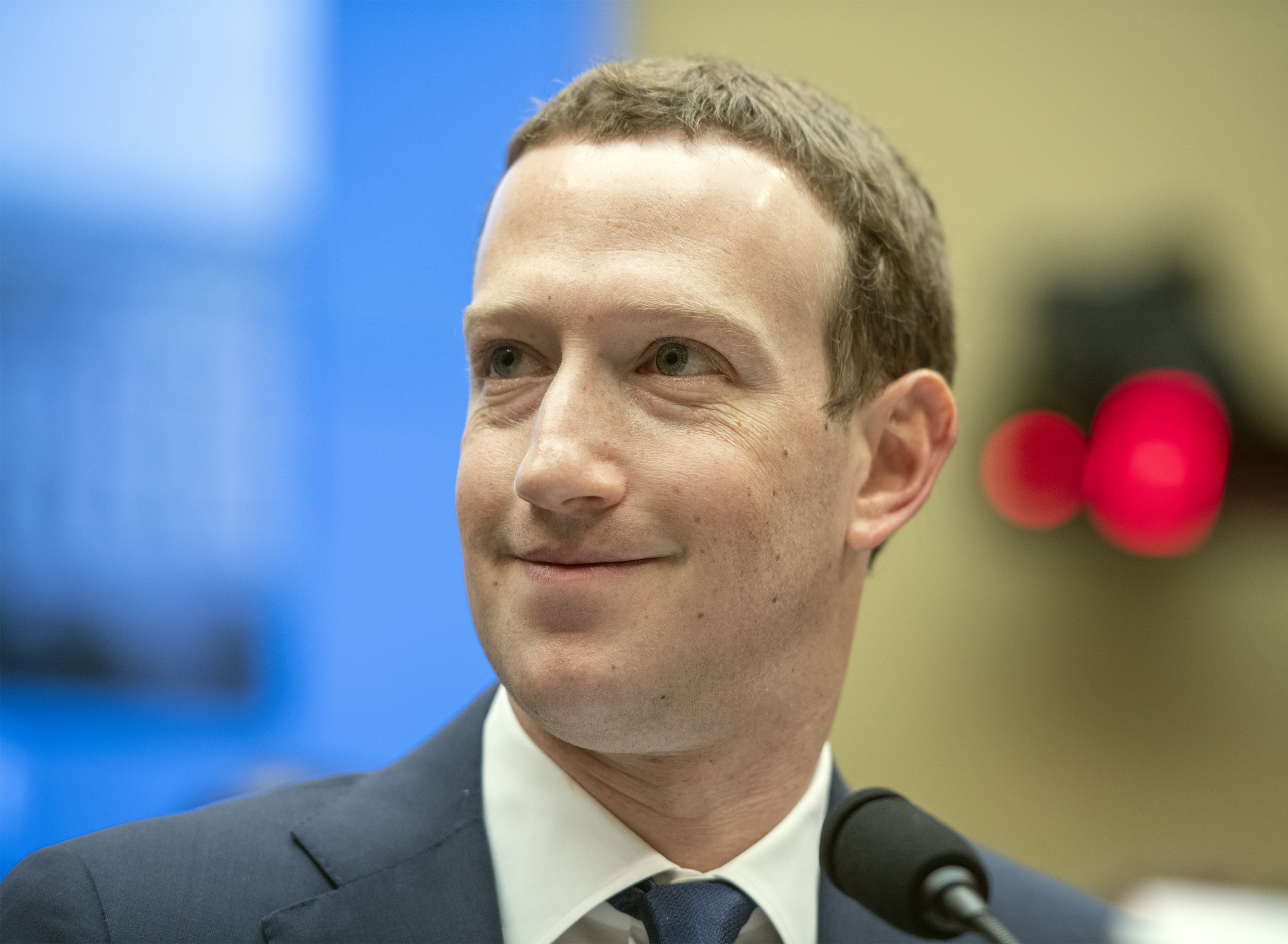 """Mark Zuckerberg, Co-Founder and CEO of Facebook, testifies before a meeting of the United States House Committee on Energy and Commerce during a hearing on """"Facebook: Transparency and Use of Consumer Data,"""" on Capitol Hill in Washington, DC on Wednesday, April 11, 2018. Credit: Ron Sachs / CNP (RESTRICTION: NO New York or New Jersey Newspapers or newspapers within a 75 mile radius of New York City) -NO WIRE SERVICE- Photo: Ron Sachs/Consolidated/dpa"""