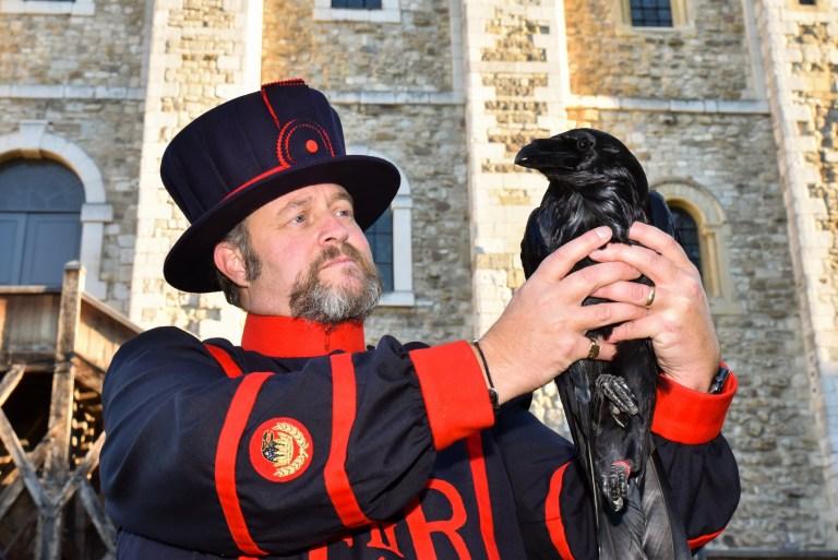 Tower of London Ravenmaster, Christopher Skaife