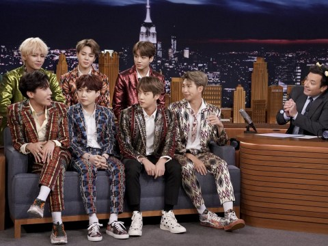 BTS' RM reveals nerves at United Nations speech on Jimmy Fallon: 'I was shaking'