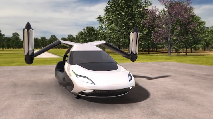 Take a look at the world's first flying car Terrafugia's TF-X