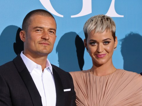 Katy Perry and Orlando Bloom have 'end of the rainbow kind of love' as they frolic in lake