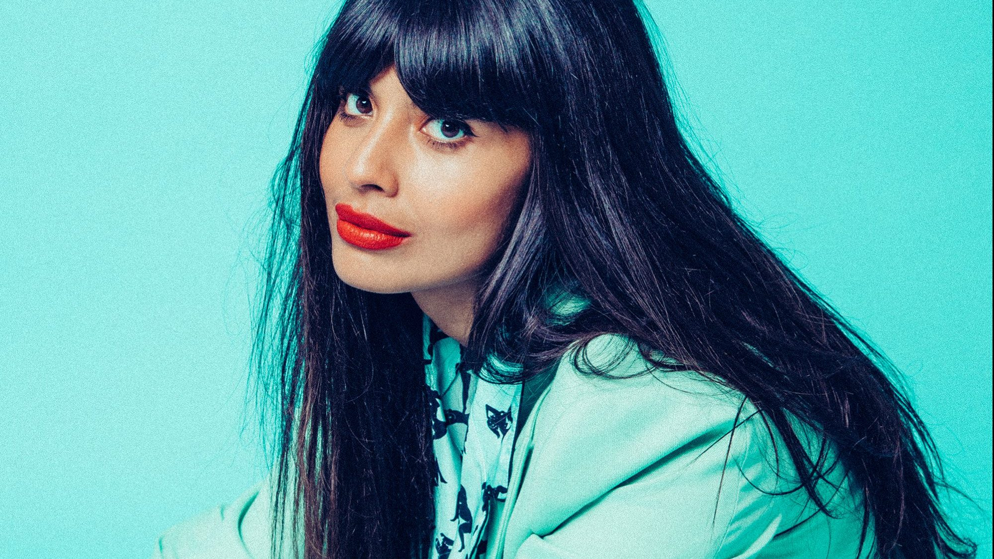 Jameela Jamil on The Good Place, I Weigh, Diversity and Ted Danson