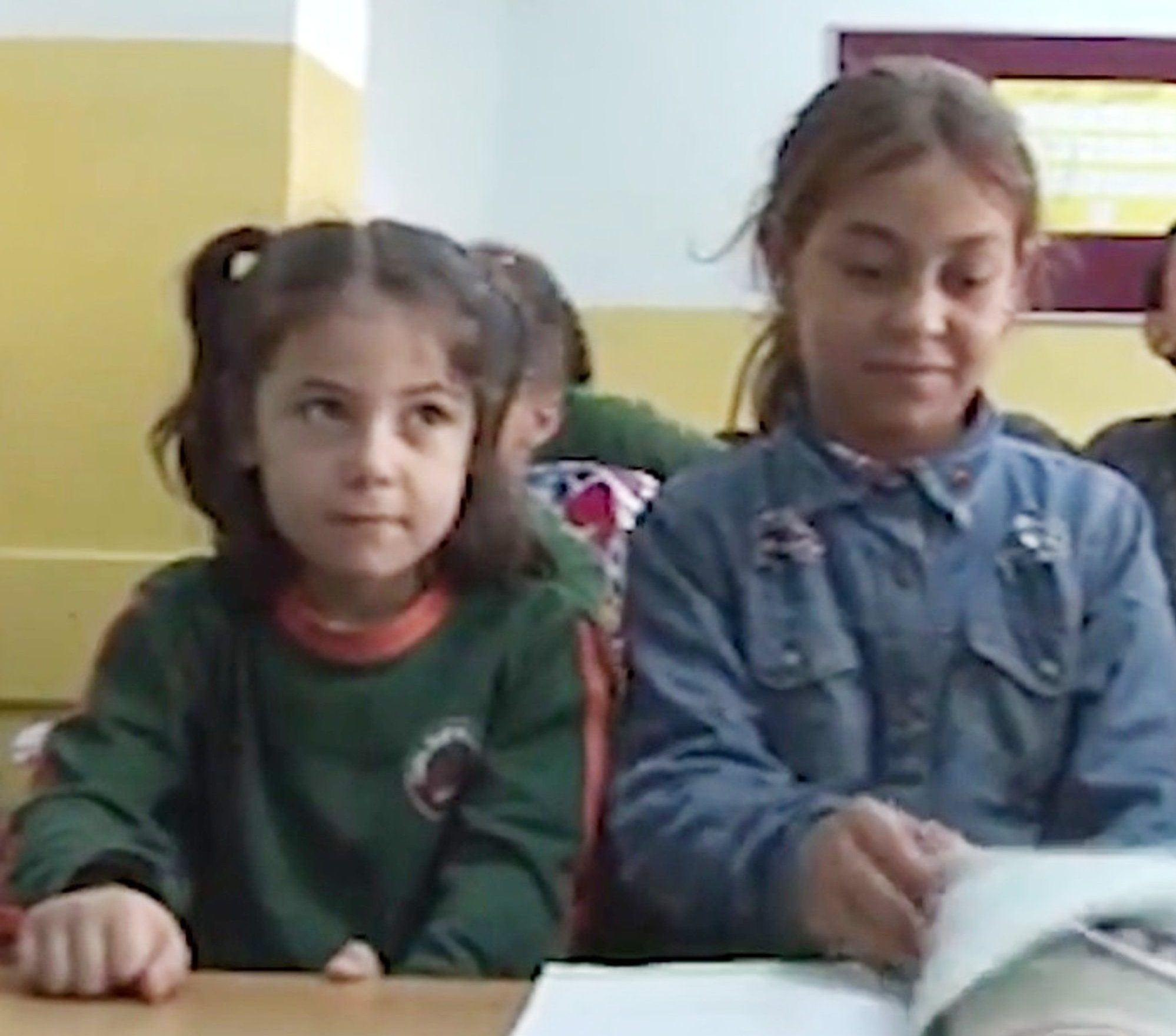 "Pic shows: Halime attending classes. This is the moment an 11-year-old Syrian refugee was filmed studying in a pile of rubbish next to several bins and the footage led to a place for her in a Turkish school. The incident took place in the Arnavutkoy area of Istanbul on the European side of the western Turkish major city. Little Halime Cuma???s life changed when video footage of her diligently writing into a notebook while sitting among rubbish was uploaded to social media and caused outrage. Turkish education authorities stepped in and found the young refugee a place at a school. The 11-year-old started her education on 26th September. According to local media, Halime arrived in Turkey from Syria with her mum and dad about one year ago. She lives with her parents and six brothers and sisters in Arnavutkoy and is the eldest child. Reports said that only the youngest child Hamide has been attending school before her sister was filmed studying in squalor. Council officials have confirmed that the municipality will pay for Halime???s school costs. Meanwhile, the bright 11-year-old said that she was ""excited"" she will be able to have ""access to so many books"" at the institute. Her dad Abdulrezzak Cuma told local media: ""I wanted my kids to go to school and was very upset that most of them could not. ""Halime started her new school today and I am over the moon. Now she will be able to progress in life. Next, I hope all out children will have access to public education."""