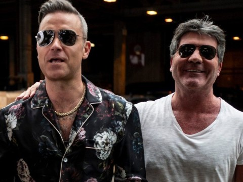 X Factor viewers slam Robbie Williams' groups as 'weak' after Simon Cowell takes dig at singer's choices