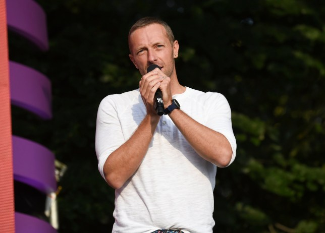 Singer and Global Citizen Festival curator Chris Martin speaks at the 2018 Global Citizen Festival in Central Park on Saturday, Sept. 29, 2018, in New York. (Photo by Evan Agostini/Invision/AP)