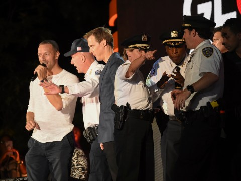 Coldplay's Chris Martin reassures crowd after 'gunshots' heard at Global Citizen Festival
