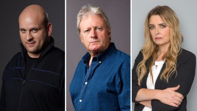 Soap spoilers for EastEnders Stuart, Coronation Street Jim and Emmerdale Charity