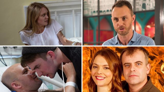 Soap spoilers for Emmerdale Rebecca, EastEnders Stuart, Coronation Street tracy and Steve and Hollyoaks James