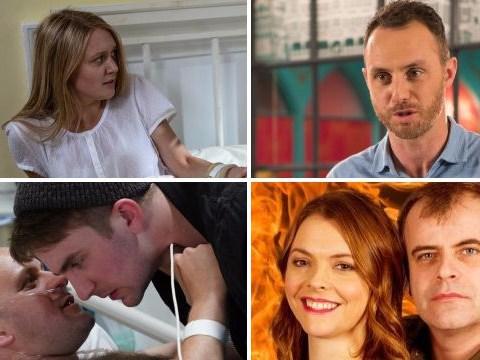 20 soap spoilers: EastEnders baby tragedy, Emmerdale Rebecca escape, Corrie Sally prison terror, Hollyoaks revenge