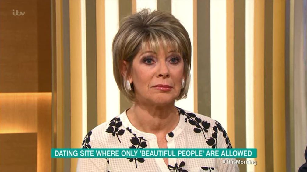 Viewers outraged as Ruth Langsford is told she needs liposuction by dating site only for 'beautiful people'