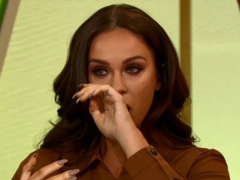Vicky Pattison in tears as she recalls moment she heard about best friend's death