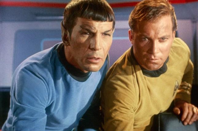 William Shatner Leonard Limoy Star Trek Source Paramount