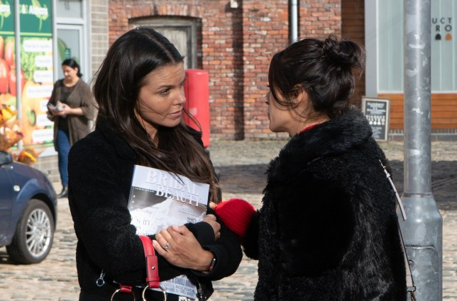 Rana worries about Kates plans in Coronation Street