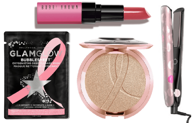 10 beauty products and treatments that Support Breast Cancer Awareness 2018