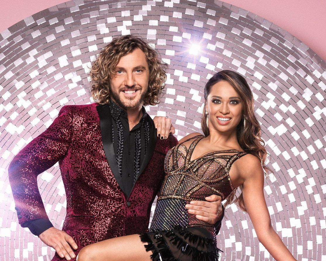 What time is Strictly Come Dancing on tonight and are Seann Walsh and Katya Jones performing?