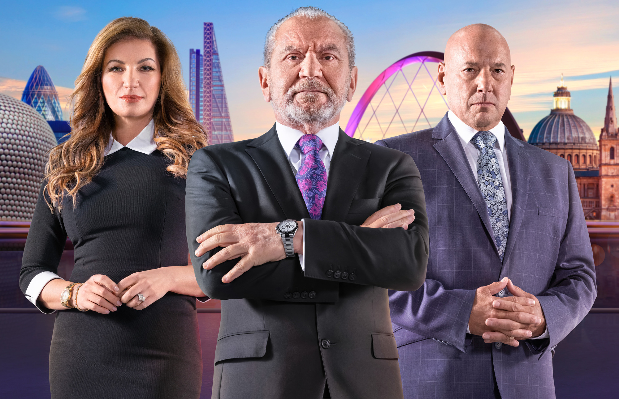 Who are The Apprentice interviewers?