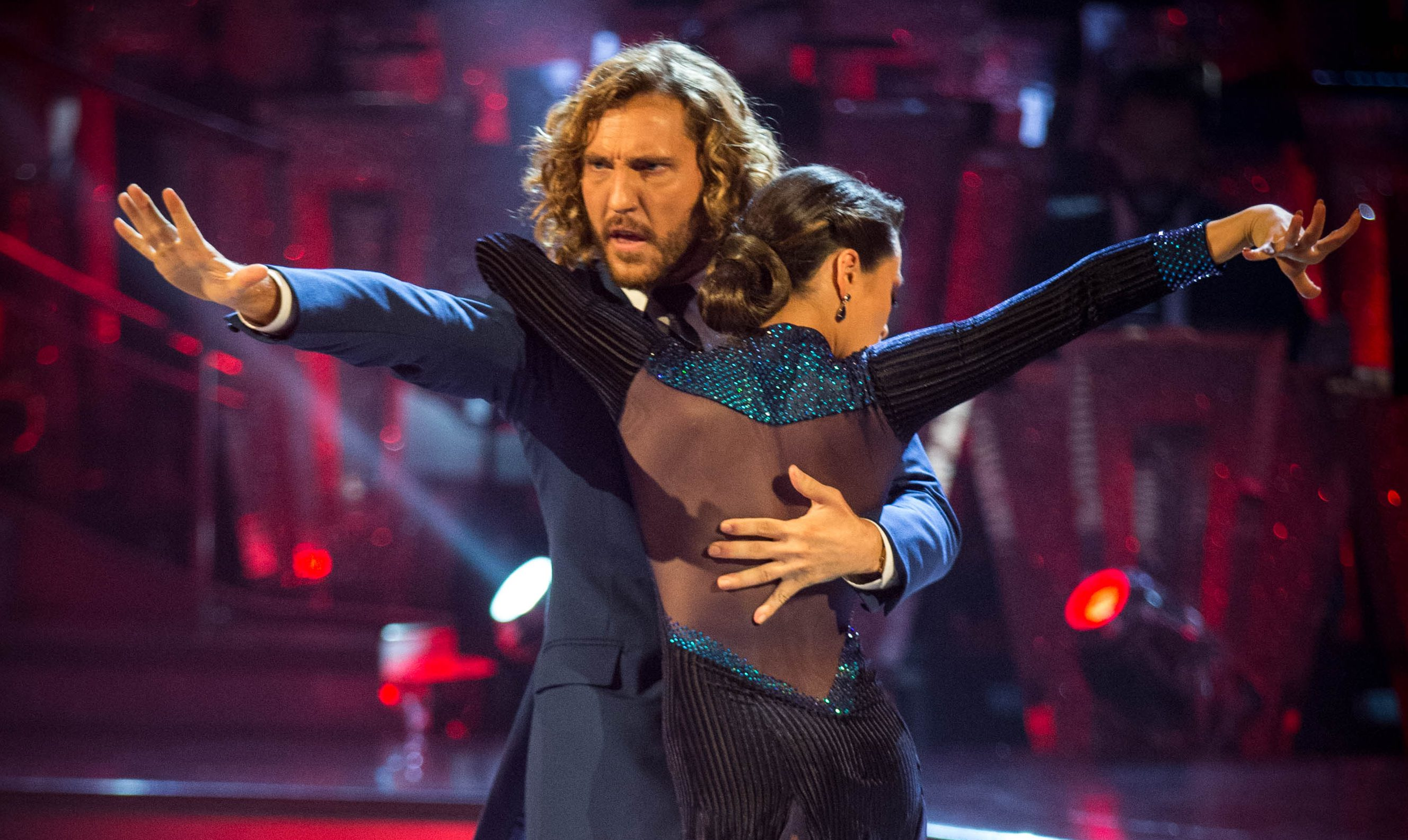 Seann Walsh and Katya Jones