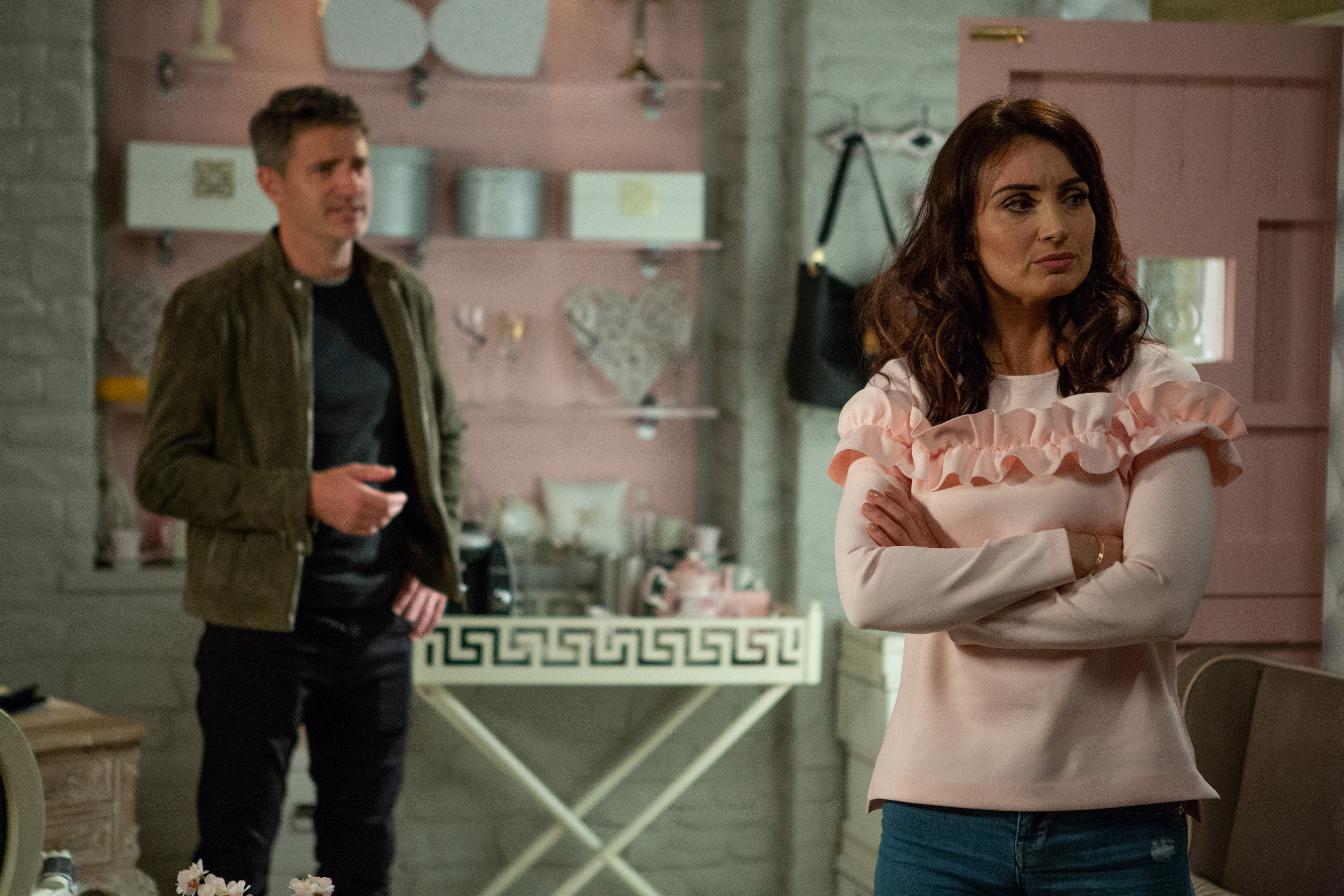 Emmerdale spoilers: Leyla's boyfriend Clive arrives but what is he up to and how does he know Frank?
