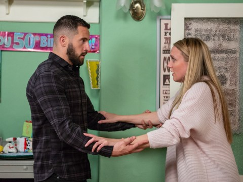 Emmerdale spoilers: Ross Barton decides to leave without Rebecca White