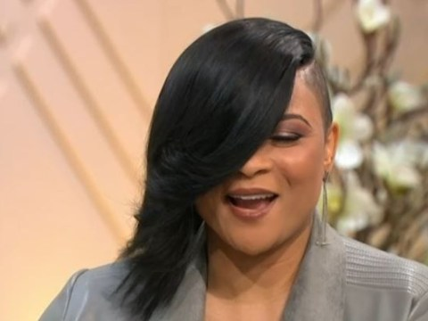 Gabrielle reflects on growing up with an eye patch as she teases 'signature look' is making a comeback