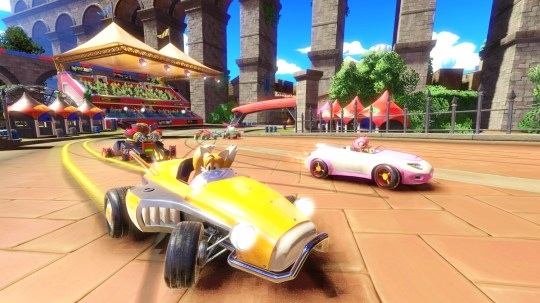 Team Sonic Racing hands-on preview – everybody can be a