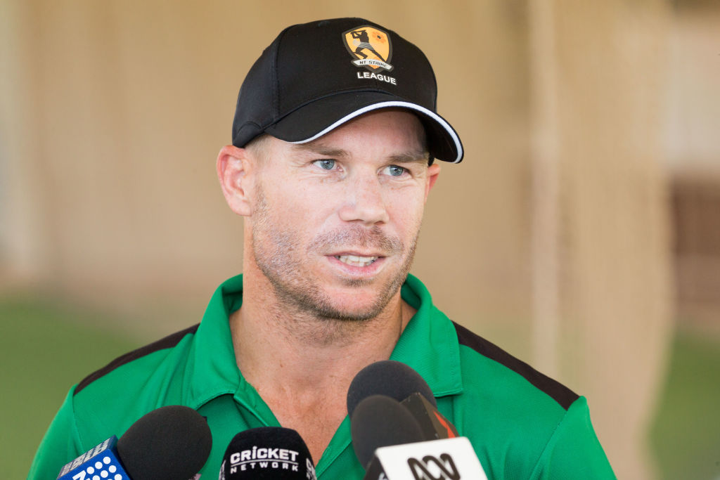 Banned Australian David Warner walks off field in protest after sledging 'turned personal'