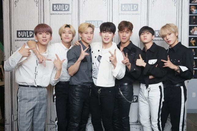 Monsta X are the only K-Pop artists playing at Jingle Ball