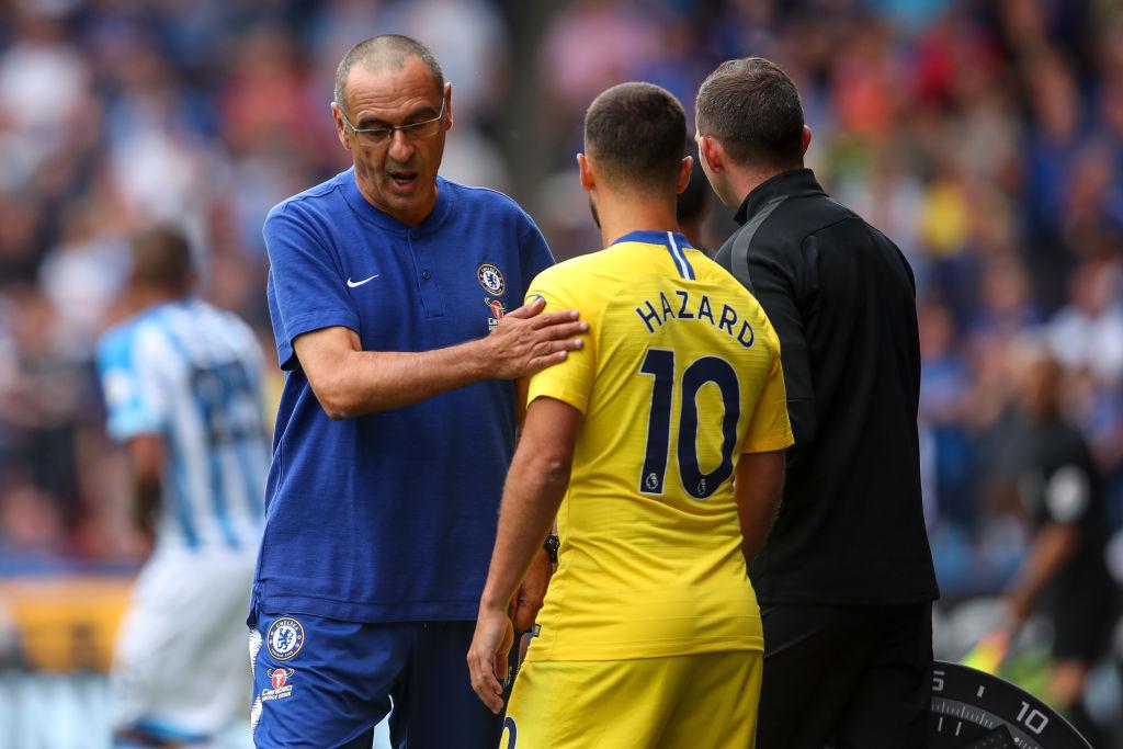 Maurizio Sarri reveals strategy to help Eden Hazard reach 40-goal target