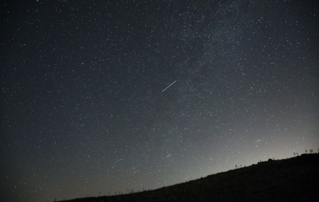 It will be a late night for meteor fans this evening (Picture: Getty Images)