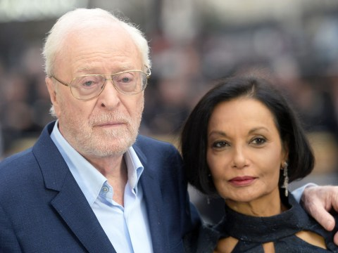 Michael Caine, 85, takes wife Shakira everywhere with him 'so he's not tempted by beautiful actresses'