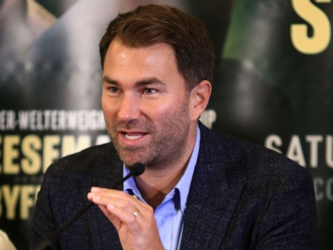 Eddie Hearn hits back at Frank Warren over claims about Billy Joe Saunders fight purse