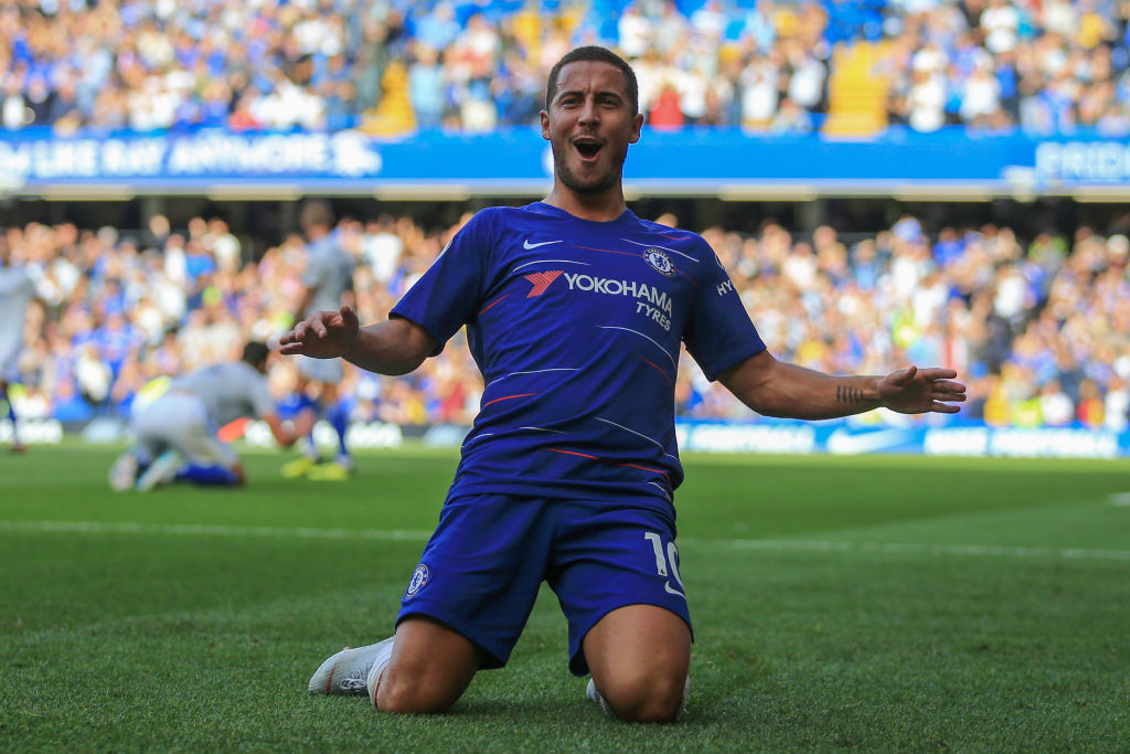 Chelsea star Eden Hazard reveals he's been forced to ditch his trademark goal celebration