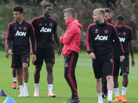 Paul Pogba, Juan Mata and Luke Shaw led Manchester United inquest in training before Newcastle victory
